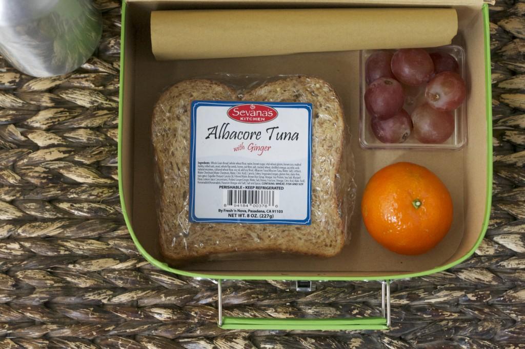 albacore tuna sandwich
