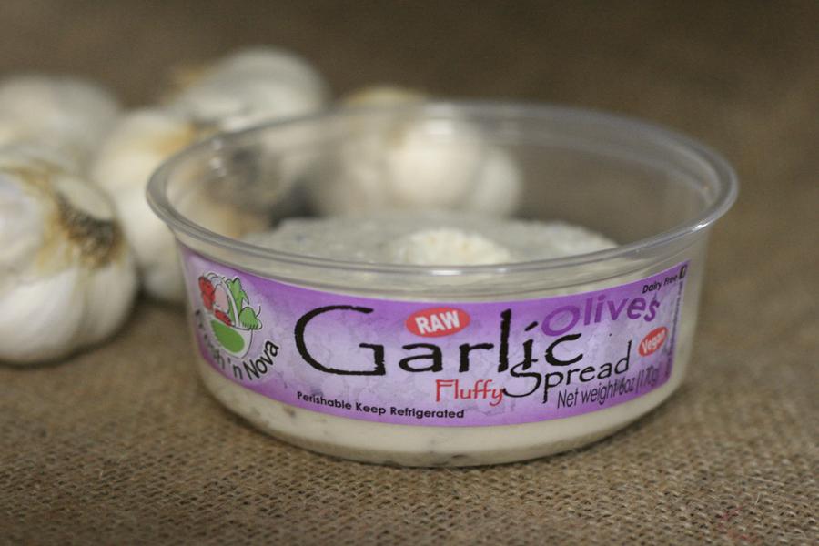 olive garlic fluff