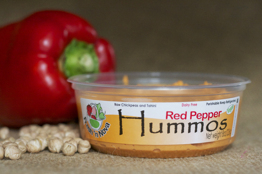 red pepper hummos
